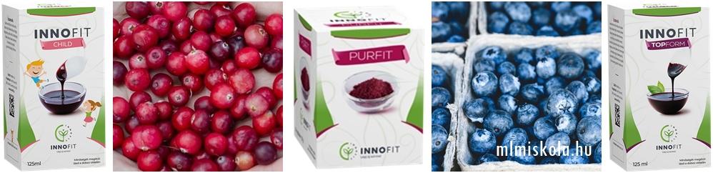 áfonya hatása, áfonya fajták, innofit gyümölcsök, innofit purfit, innofit topform Innofit child